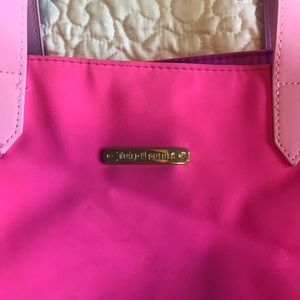 Juicy Couture Tote Bag with Magnetic Closure